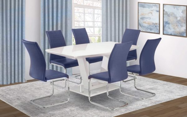 Valencia Blue Dining Set